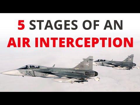 How does an air interception work?
