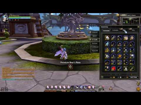 Dragon Nest INA . Open G-box pouch , Dragon Emperor Seal , Skill tree Expansion Coupon