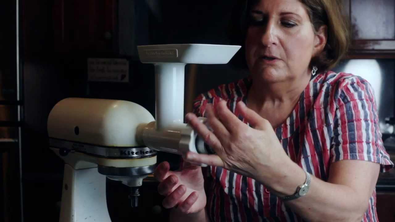 Kitchenaid and the Kibbe Attachment  Doovi -> Kitchenaid Lebanon