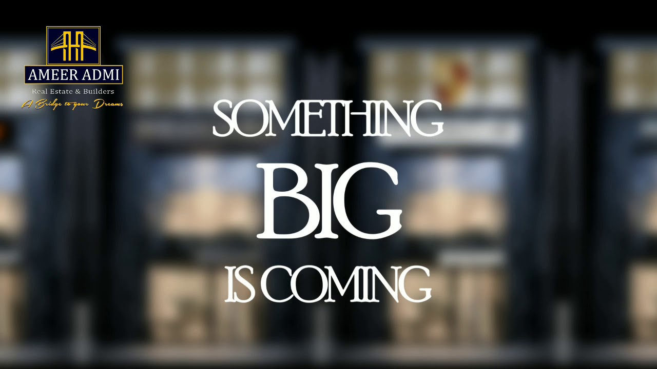 Stay Tuned | Something BIG is COMING on JINNAH AVENUE Bahria Town Karachi | Ameer Admi Exclusive
