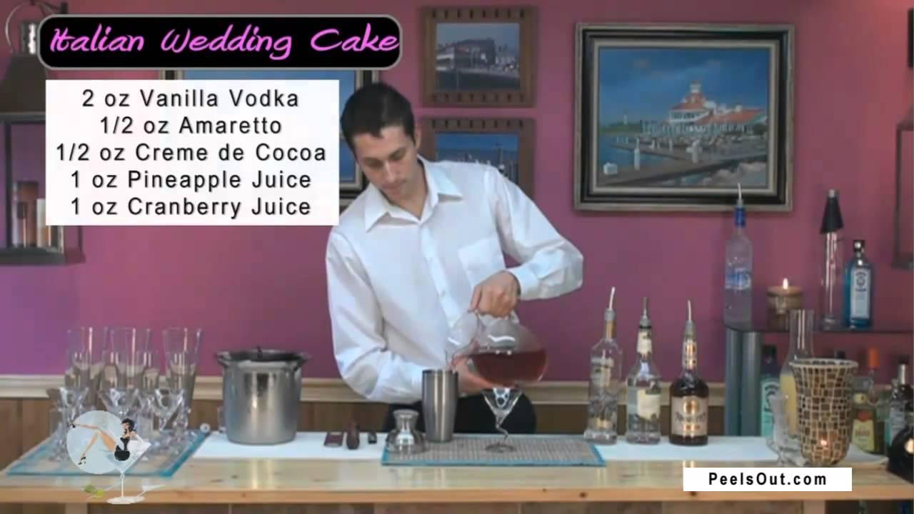 Italian Wedding Cake Martini Lsout