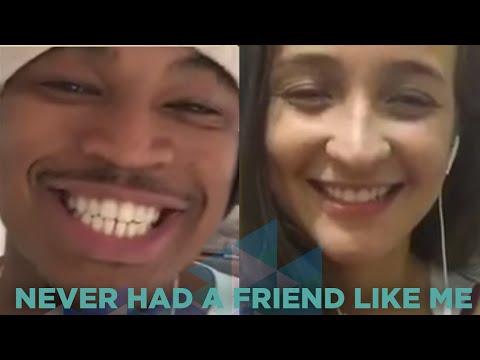 Bárbara Dias - Never Had A Friend Like Me ( Ne Yo Smule Sing! Karaoke App)