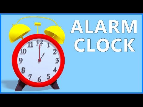 Clock Song For Kids  Alarm Clock For Children