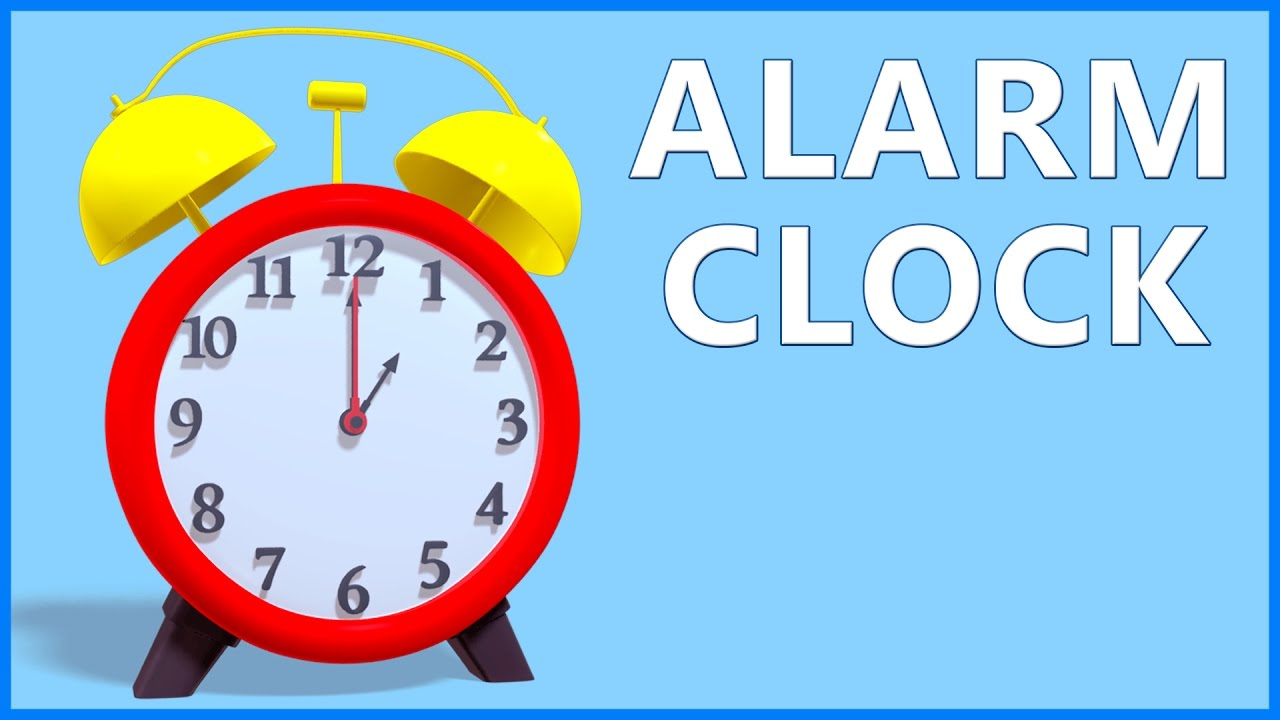 Clock Song For Kids Alarm