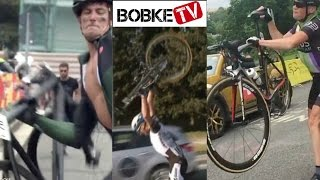 Cyclists throwing their Bikes compilation - The best Bike Throws!