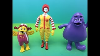 McDONALD'S McKIDS RONALD MCDONALD TOY COLLECTION