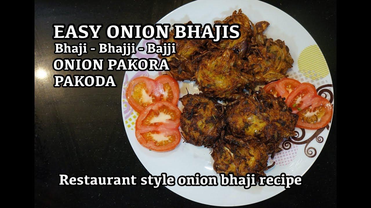 Super easy onion bhaji recipe bhajji pakora vegan recipes super easy onion bhaji recipe bhajji pakora vegan recipes indian street food forumfinder Images