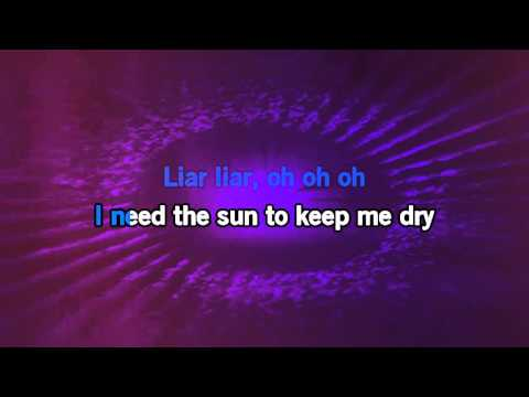 Cris Cab -  Liar Liar [Karaoke Video]