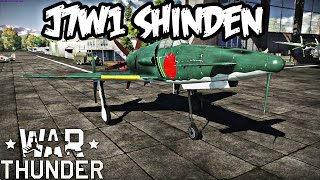 War Thunder Gameplay - J7W1 Shinden - Realistic Battle - Have You Tried It?
