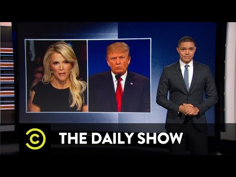 Donald Trump vs. Megyn Kelly: The Daily Show
