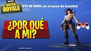 MY FIRST PARTY WITH THE SKIN *CASCABEL* FORTNITE! - Victor