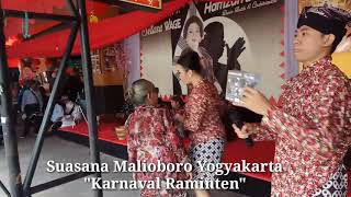 Karnaval Raminten Selasa Wage di Malioboro @pa'e purwo