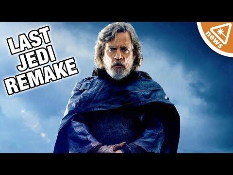 How the Internet Wants to Remake Star Wars The Last Jedi! (Nerdist News w/ Jessica Chobot)