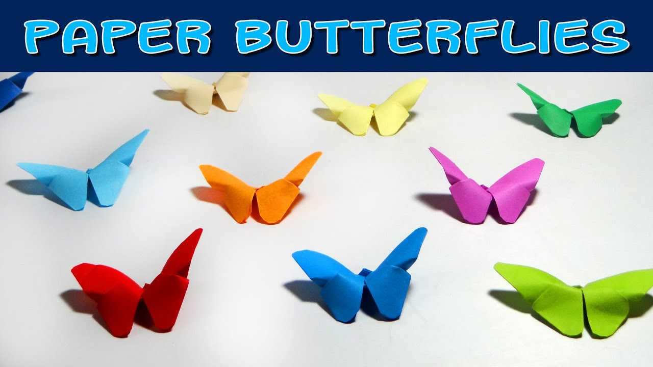 DIY Crafts - How to Make Origami Butterfly ( Very Easy ... - photo#36