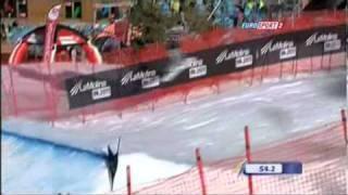 スノーボード世界選手権 La Molina(SPA) 女子SBX予選1本目 藤森由香(JPN) 藤森由香 検索動画 23