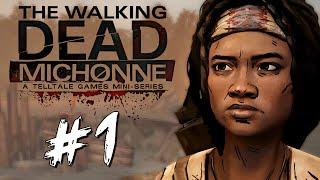 the Walking Dead: Michonne - история о Мишон - Обзор! (Геймплей)