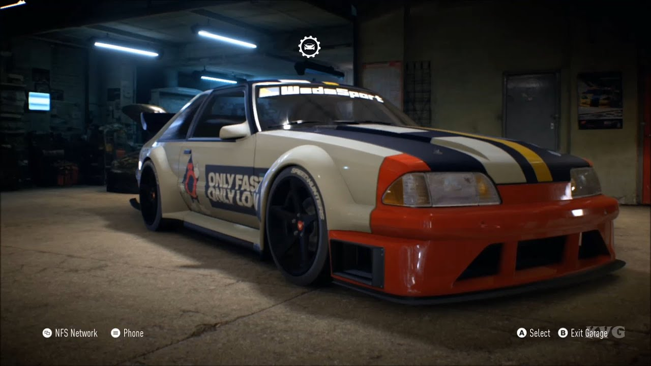Need For Sd 2017 Ford Mustang Foxbody 1990 Customize Car Tuning Xboxone Hd 1080p You