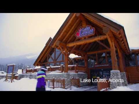 Snowboarding at Lake Louise Ski Resort in Alberta Canada with the Planet D