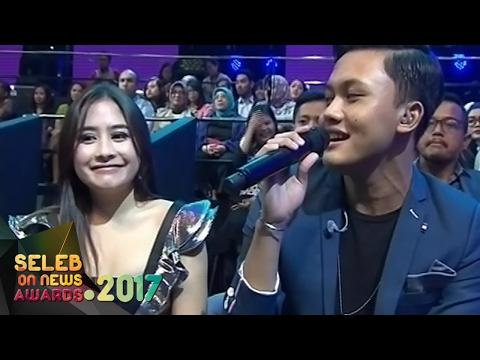 Rizky Febian  Penantian Berharga  Untuk Prilly Latucsina  Seleb  News Awards 2017 92
