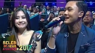 Rizky FebianPenantian BerhargaUntuk Prilly Latuconsina Seleb On News Awards 2017