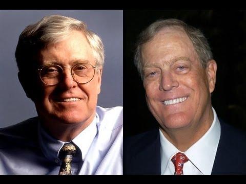 Koch Brothers and Scott Walker