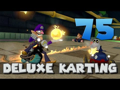 [75] Deluxe Karting (Mario Kart 8 Deluxe w/ GaLm and friends)