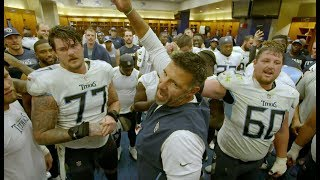 Mike Vrabel's Postgame Victory Speech
