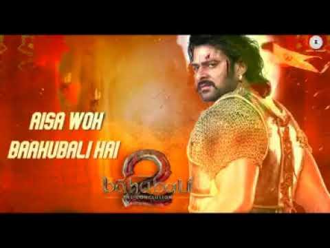 Karaoke With  Lyrics Jiyo Re Baahubali  by Raju Ahir  Baahubali 2    M M Kreem   YouTube 1080p