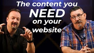 What is the fastest way to Google Search page one? The content you need on your site!