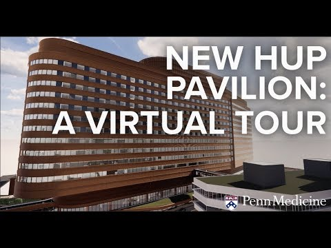A Virtual Tour Of The New HUP Pavilion: Exterior And Public Spaces