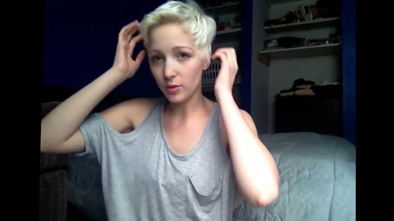 Pixie Cut Styling Youtube