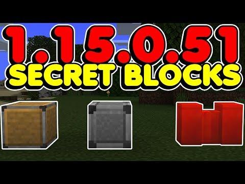 Minecraft Bedrock Deny Allow And Border Blocks Added Secret Blocks Youtube