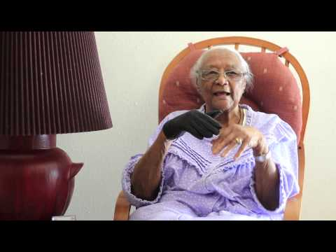 Granny Interview (Slavery/picking cotton/experiencing heaven