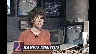 RAW: Meteorologist Karen Minton remembers the
