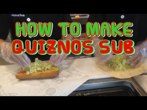 The Making of Quiznos Sandwich & Wrap