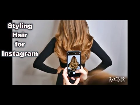 HOW I STYLE HAIR FOR INSTAGRAM