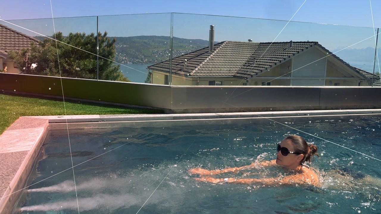 Versenkbarer Pool terramare pool präsentation
