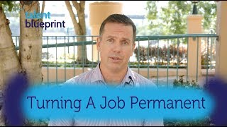 How To Turn Your Contract Job Permanent