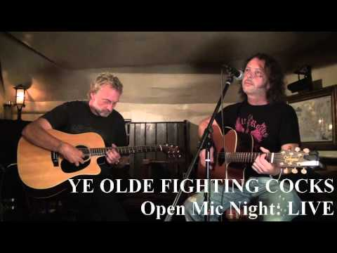 Ye Olde Fighting Cocks Open Mic Night 1st August 2014