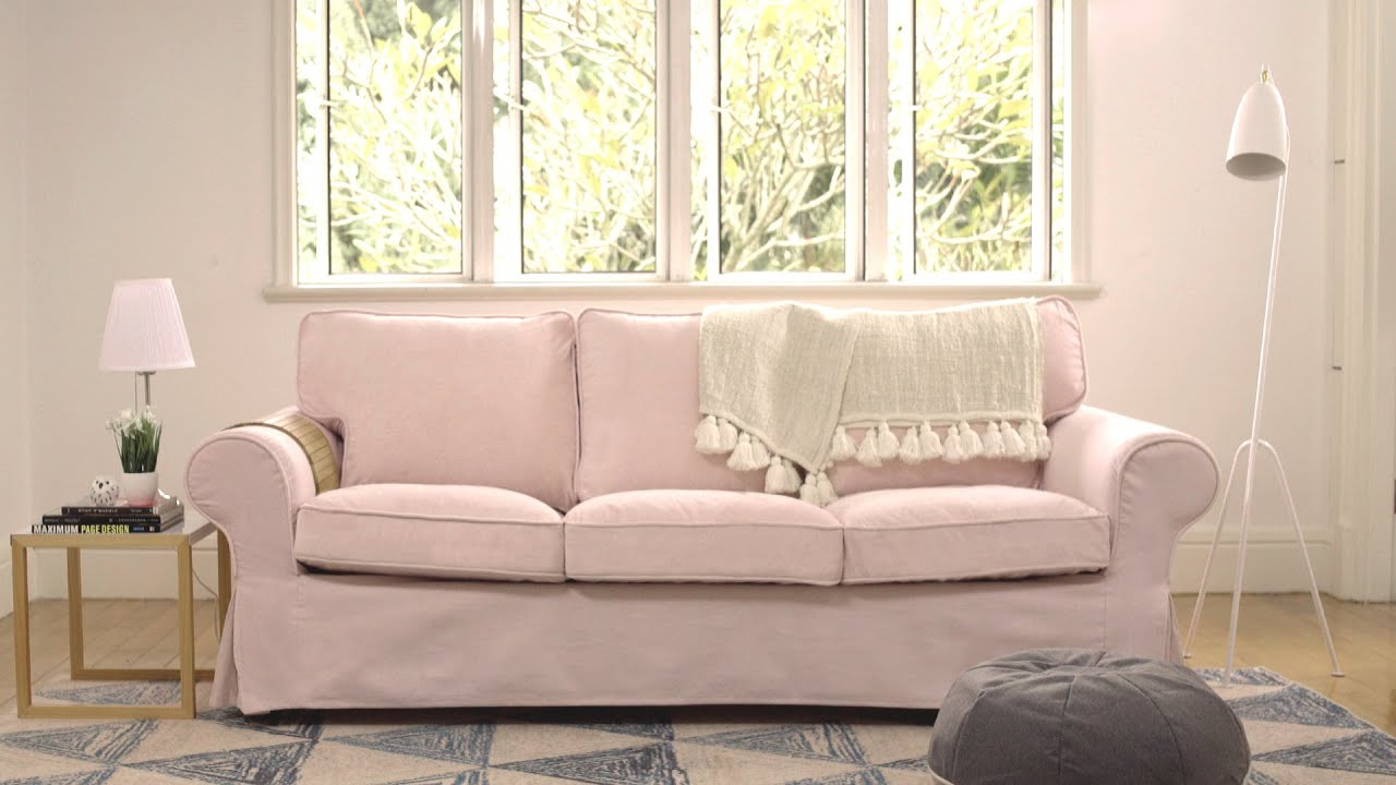 IKEA Ektorp Sofa Makeover | Comfort Works Sofa Covers