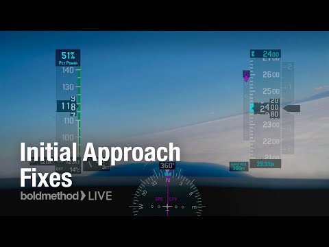 Boldmethod LIVE IFR - Starting an Instrument Approach