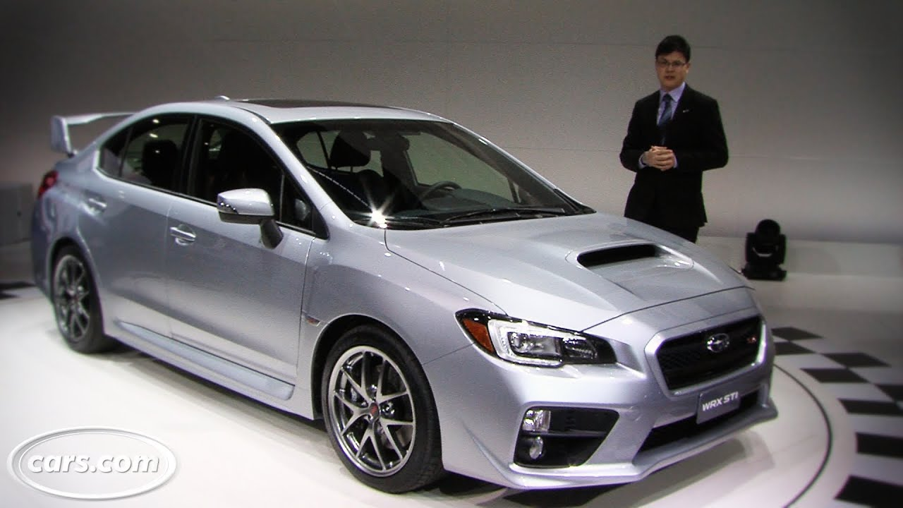 2015 Subaru WRX STI -- 2014 Detroit Auto Show