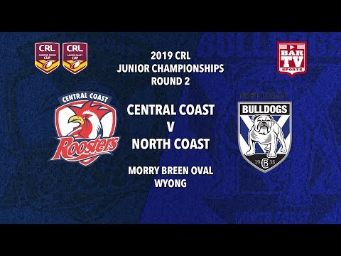 2019 Country Rugby League Rep - Johns and Daley Cup - Round 2 - Roosters v Bulldogs