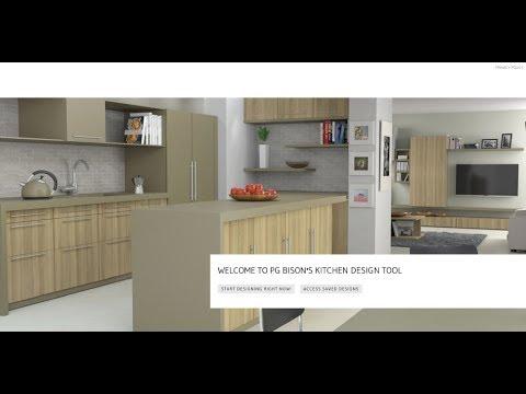 PG Bison Free Kitchen Design Tool