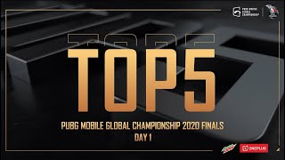 Top 5 #PMGC Best Player Moments from Day 1