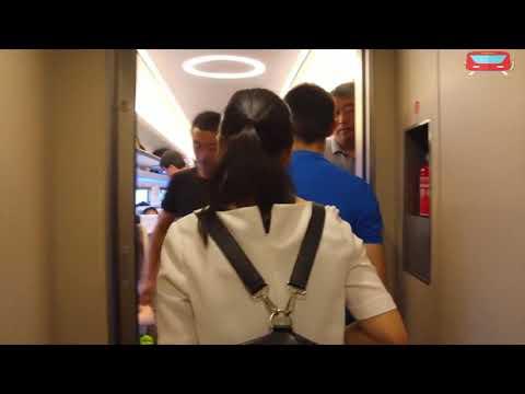 high speed train travel from xuzhou to nanjing