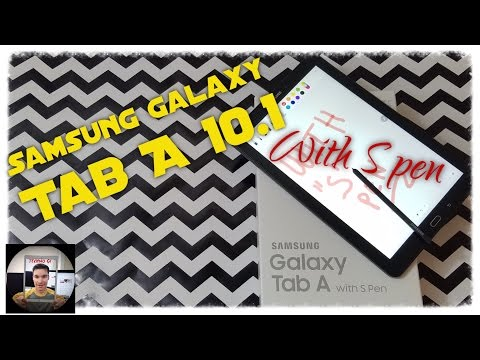 Samsung Galaxy Tab A 10.1 with S Pen: Review.  2016 model