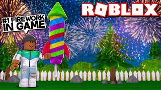 Buying the #1 FIREWORK in the game! | Roblox Firework Simulator