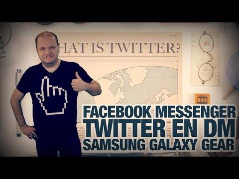 #freshnews 550 Facebook Messenger. Twitter en DM. Samsung Galaxy Gear