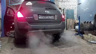 Выхлоп Nissan Murano z50